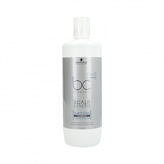 SCHWARZKOPF PROFESSIONAL BC BONACURE Scalp Genesis purifying shampoo for normal and oily scalps 1000ml - 1