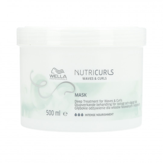 WELLA PROFESSIONALS NUTRICURLS Hair Mask for Curls and Waves 500ml - 1