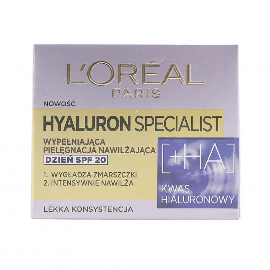 L'OREAL PARIS HYALURON SPECIALIST Day Cream SPF20 50ml