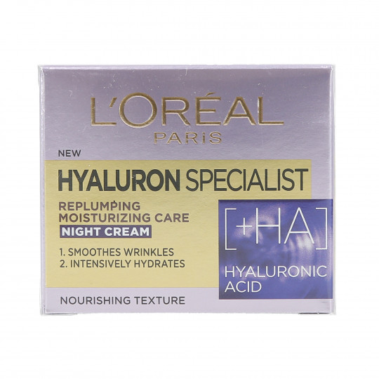 L'OREAL PARIS HYALURON SPECIALIST Night mask cream 50ml