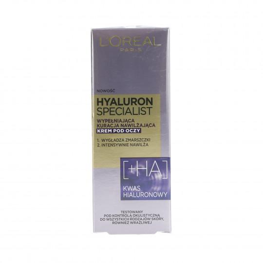 L'OREAL PARIS HYALURON SPECIALIST Eye Cream 15ml