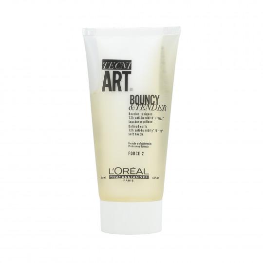 L'OREAL PROFESSIONNEL TECNI.ART Bouncy&Tender Cream-Gel Defined Curls 150ml - 1