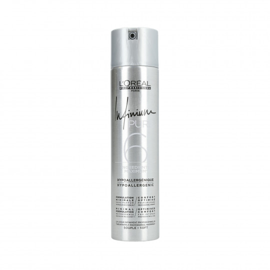 L'OREAL PROFESSIONNEL INFINIUM PURE Soft Hairspray 300ml - 1