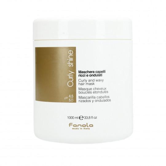 FANOLA CURLY SHINE Curly hair mask 1000ml - 1