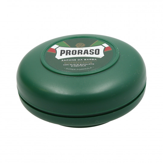 PRORASO GREEN Refreshing Shaving Soap 75ml