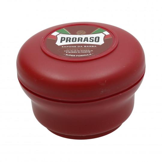 PRORASO RED Nourishing Shaving Soap 150ml - 1