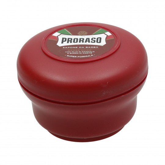 PRORASO RED Nourishing Shaving Soap 150ml