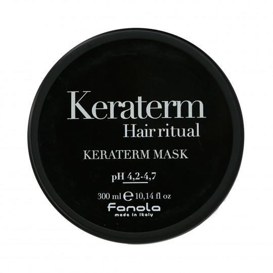 FANOLA KERATERM Mask with keratin for frizzy hair 300ml - 1