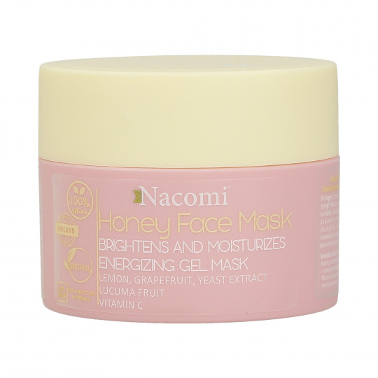 NACOMI Honey Face Mask Brightens and moisturises Energizing gel mask 50ml - 1