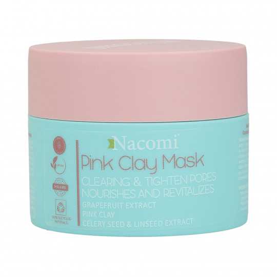 NACOMI Pink Clay Mask Clearing and Tightening pores 50ml - 1