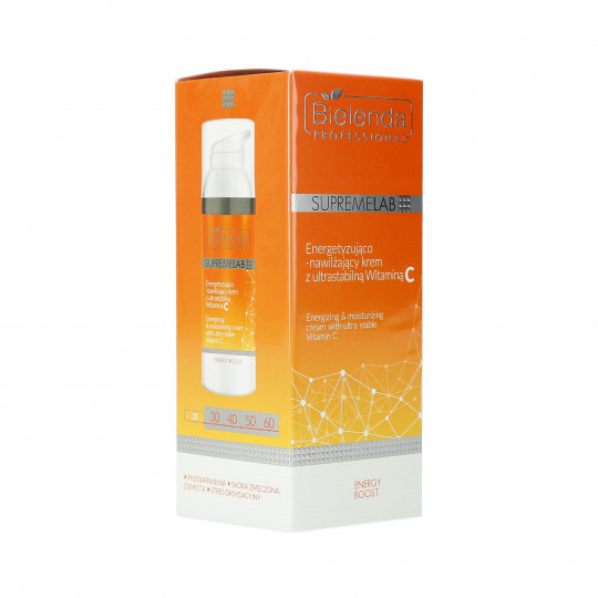 PROFESSIONAL SUPREMELAB Energizing cream with vitamin C 70ml - 1