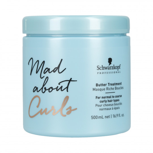 SCHWARZKOPF PROFESSIONAL MAD ABOUT CURLS Butter Treatment Mask 500ml - 1