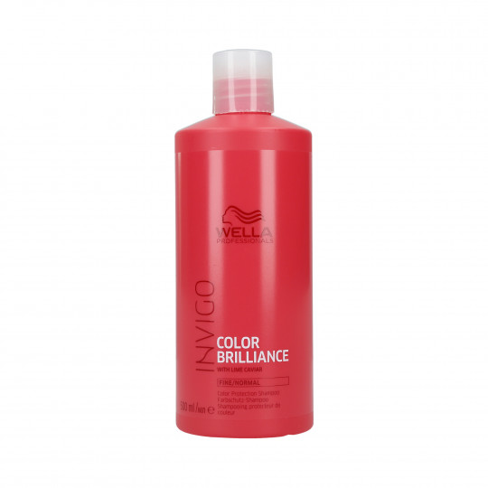 WELLA PROFESSIONALS INVIGO COLOR BRILLIANCE Shampoo for Fine Hair 500ml - 1