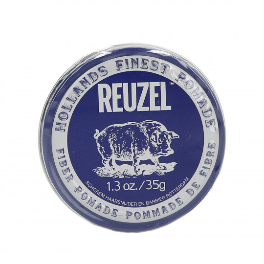 REUZEL Fiber Pomade Firm and Pliable Low Shine Water Soluble 35g - 1
