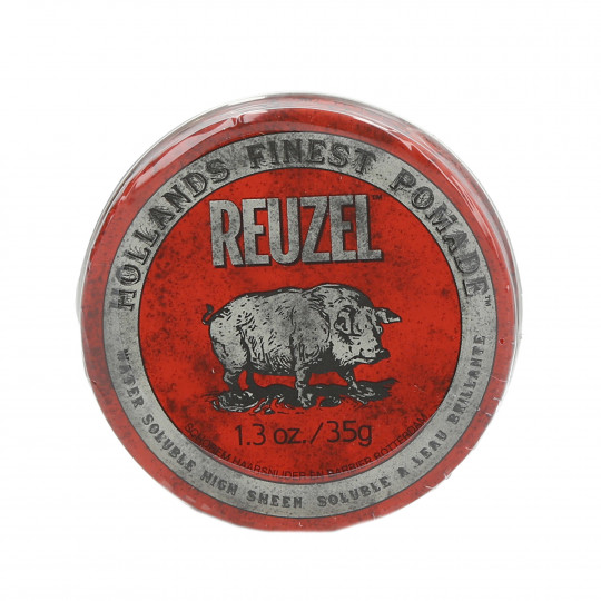 REUZEL Red Medium Hold High Shine Water Soluble Pomade 35g - 1