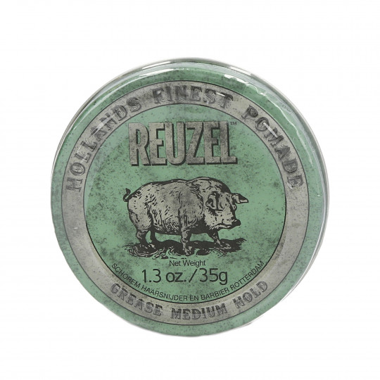 REUZEL Green Medium Hold Medium Shine Oil Based pomade 35g - 1