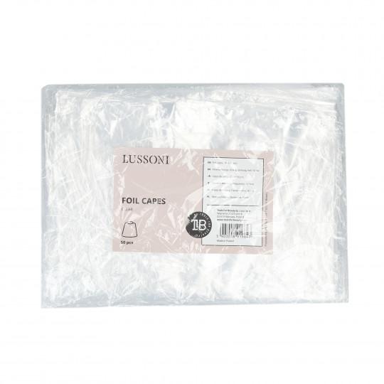 LUSSONI Foil capes, Clear, 50 pcs