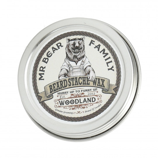 MR. BEAR FAMILY BEARD STACHE WOODLAND 30G