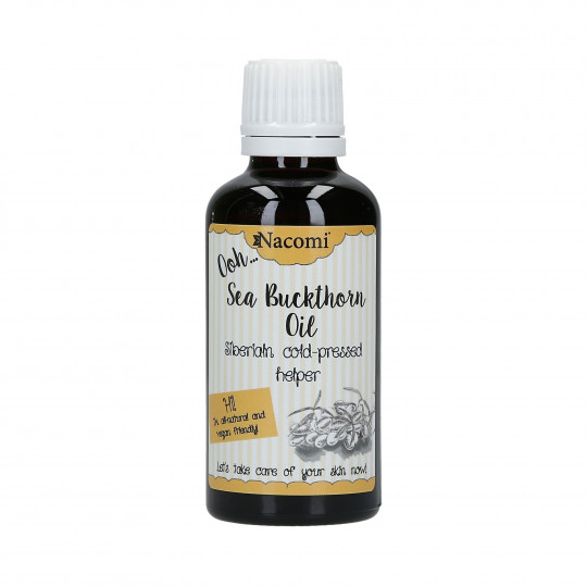 NACOMI Siberian, cold-pressed sea buckthorn oil 50ml