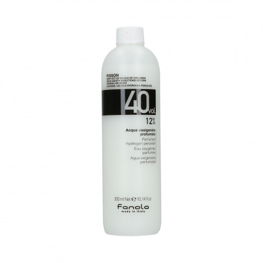 Fanola Perfumed Hydrogen Peroxide Hair Oxidant 40 vol 12% 300 ml