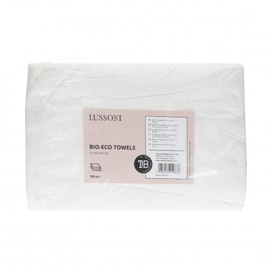 LUSSONI BIO-ECO towels, 70 cm x 50 cm, 100 pcs