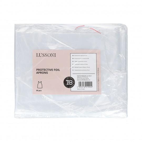LUSSONI Protective foil aprons, 50 pcs