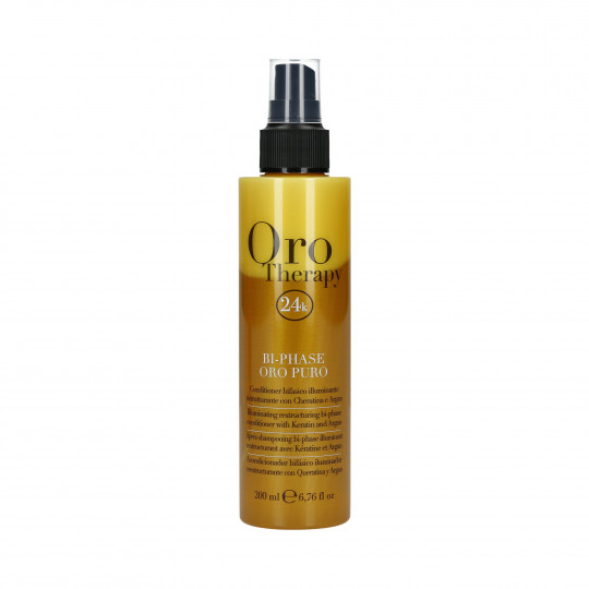 FANOLA ORO THERAPY BI-PHASE CONDITIONER GOLD 200ML