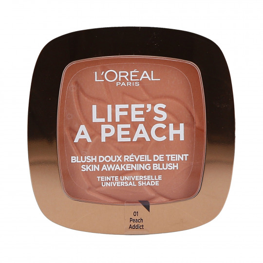 LIFE'S A PEACH POWDER 01 PEACH ADDICT