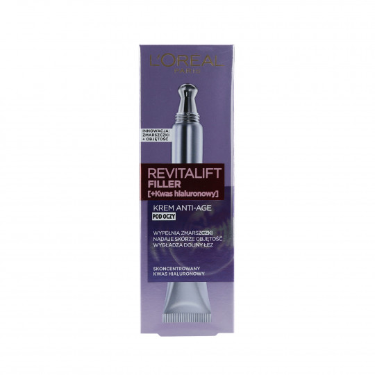 DERMO EXPERTISE REVITALIFT FILLER EYE 15ML