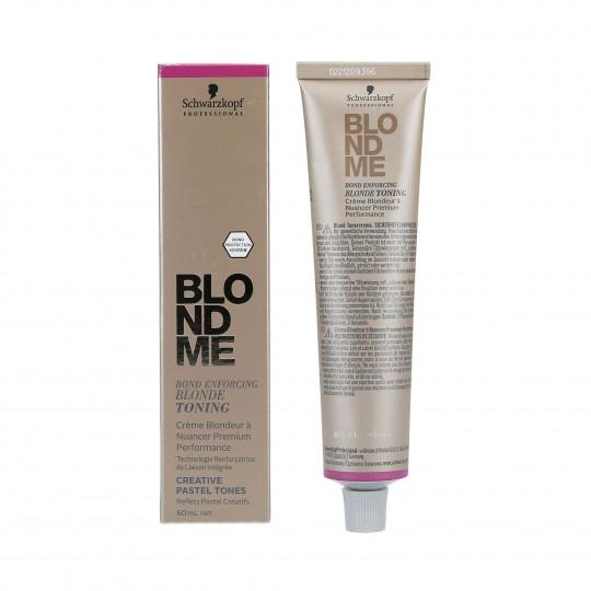 SCHWARZKOPF PROFESSIONAL BLONDME Pastel hair toner 60ml - 1