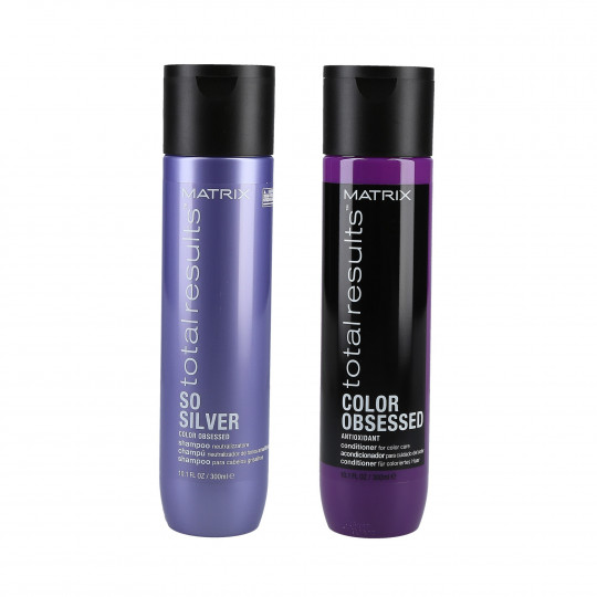 TR SO SILVER SHAMP 300ML+COLOR OBSESSED COND 300ML