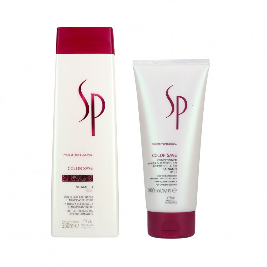WELLA SP COLOR SAVE Coloured hair Shampoo 250ml+Conditioner 200ml - 1
