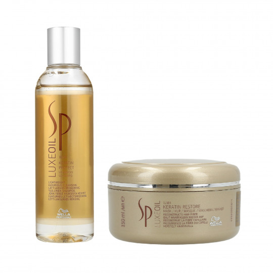 WELLA SP LUXE OIL Keratin Shampoo 200ml+Mask 150ml - 1