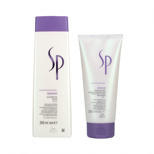 WELLA SP REPAIR Damaged hair Shampoo 250ml+ Conditioner 200ml - 1