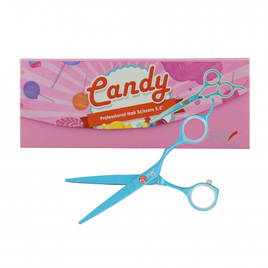FOX CANDY 5,5 SCISSORS TURQUOISE