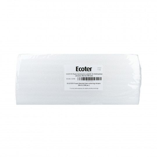 EKO-HIGIENA ECOTER Thermal foam strips for hair colouring 100pcs.