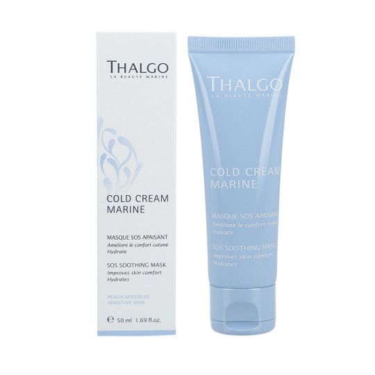 THALGO COLD CREAM MARINE Nutri-Soothing Cream 24 h Replenishing 50ml