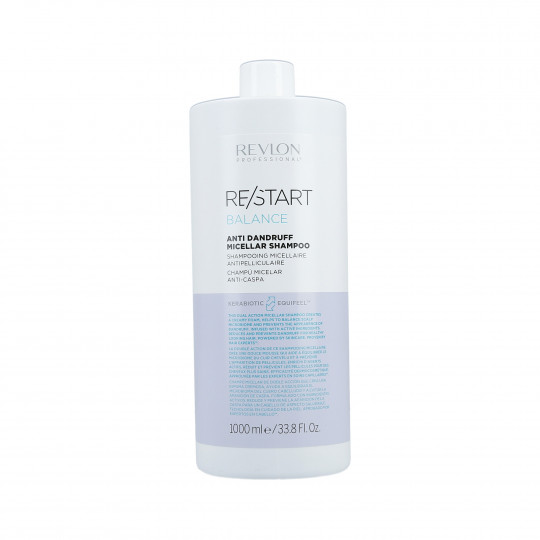 REVLON PROFESSIONAL RE/START Balance Scalp Anti-Dandruff Shampoo 1000ml