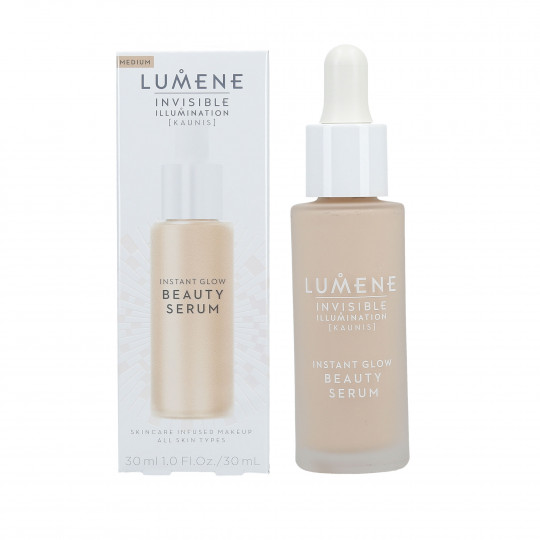 LUM INVISIBLE ILLUM BEAUTY SERUM MEDIUM 30ML