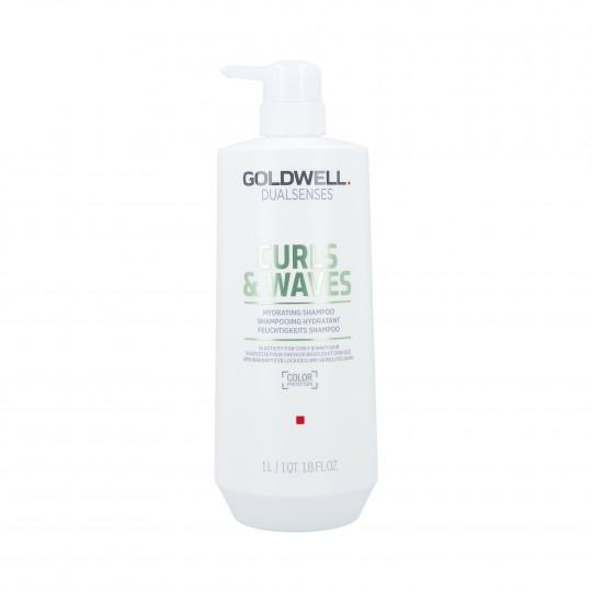 GOLDWELL DUALSENSES CURLS&WAVES Hydrating Shampoo 1000ml - 1
