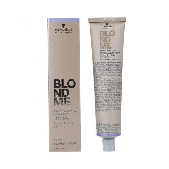 SCHWARZKOPF PROFESSIONAL BLONDME Bond Enforcing Blonde Lifting Brightening cream 60ml