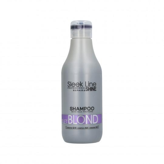 STAPIZ SLEEK LINE VIOLET BLOND Colour neutralising shampoo 300ml - 1