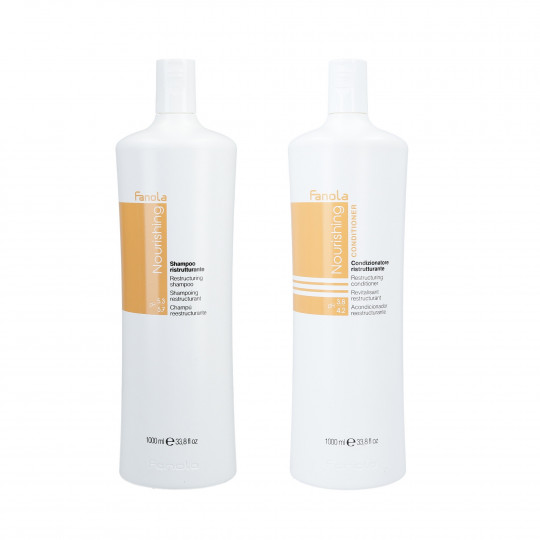 FANOLA NOURISHING SHAMPOO 1L+CONDITIONER 1L