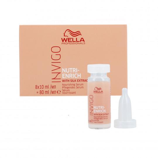 WELLA PROFESSIONALS INVIGO NUTRI-ENRICH Serum for dry hair 8x10ml