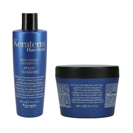 FANOLA KERATERM SHAMPOO 300ML+MASK 300ML