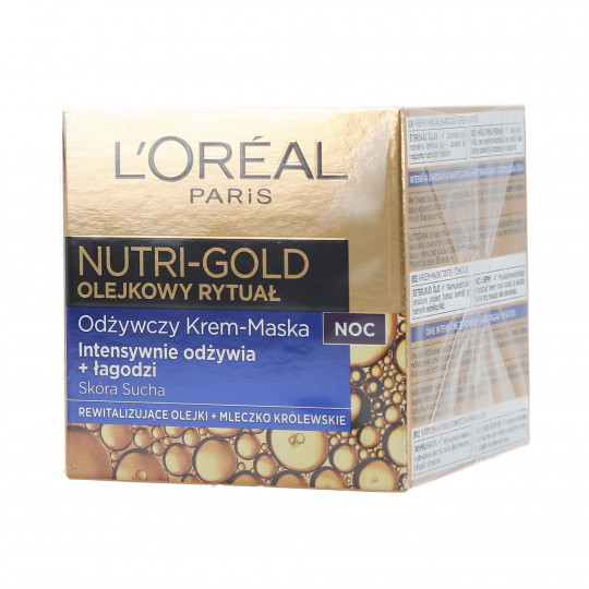 DERMO EXPERTISE NUTRIGOLD OIL CREAM NIGHT 50ML