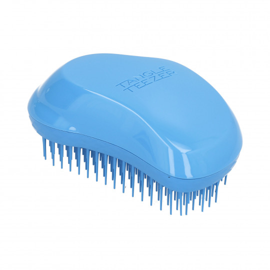TANGLE TEEZER The original Thick & Curly Azure Blue Hair Brush