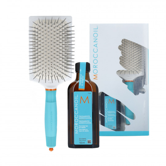 MOR TREATMENT 100ML + PADDLE BRUSH SET