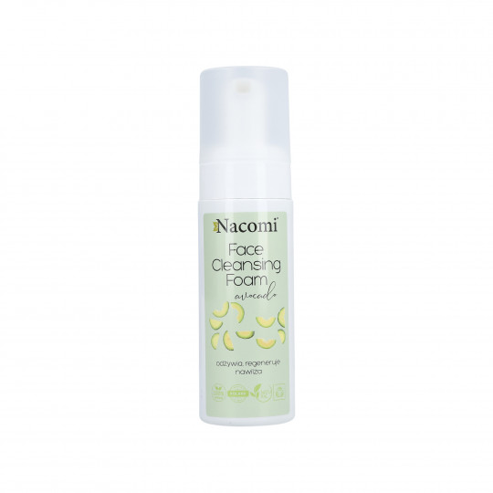 NACOMI Face Cleansing Foam Avocado 150ml - 1