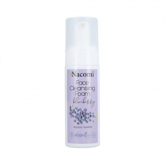 NACOMI Face Cleansing Foam Blueberry 150ml - 1